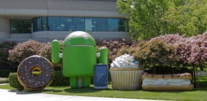 Android at the Google campus